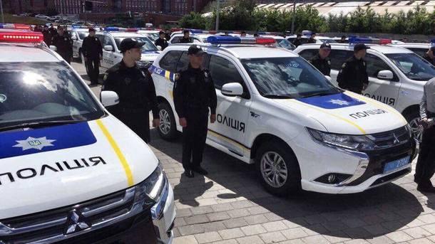 Милиция Днепропетровщины первой вУкраинском государстве получила «экологические» автомобили