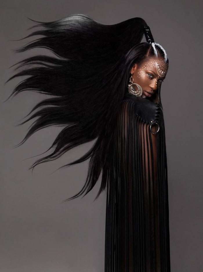 Суровые афро-стрижки от британских парикмахеров