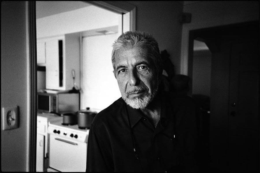 Leonard Cohen, Los Angeles, 2005