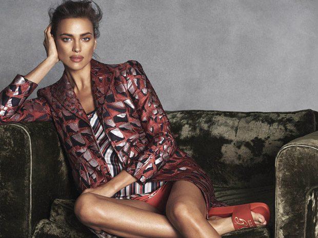 Irina Shayk Stuns for S Moda February 2017 Cover Story