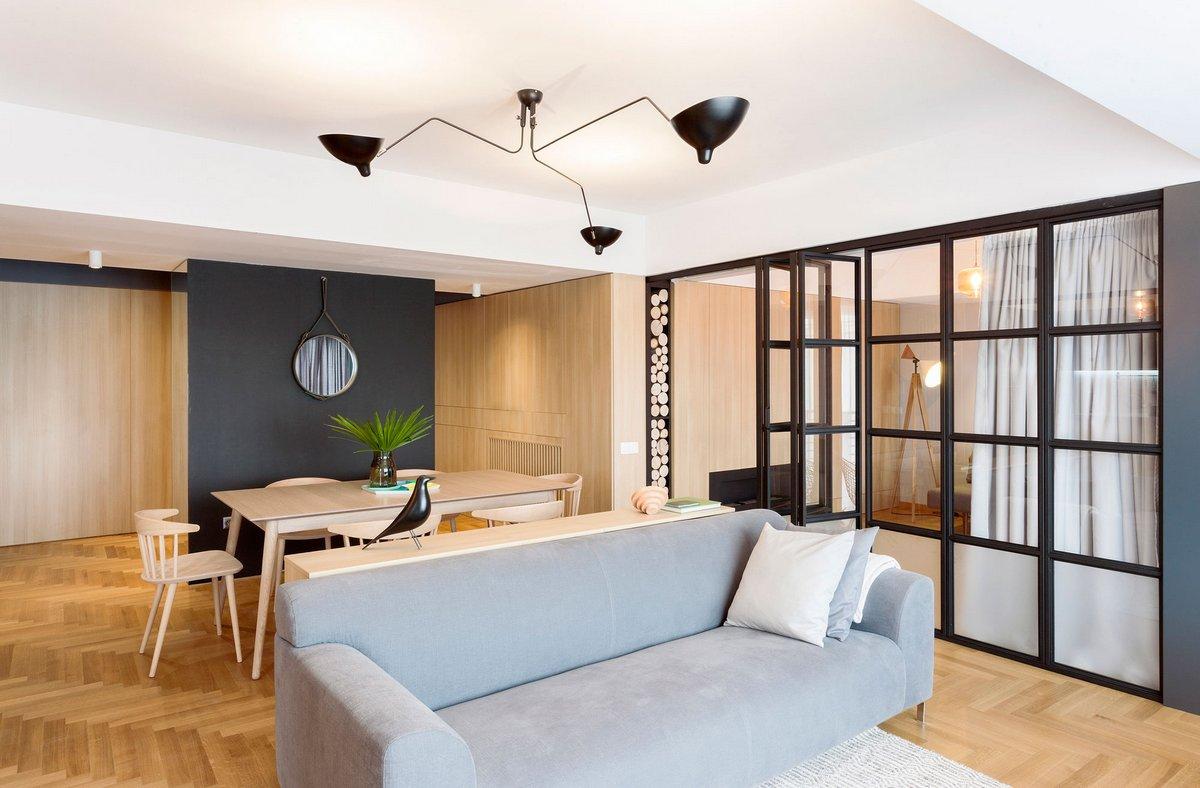 Современные апартаменты в Бухаресте от Rosu-ciocodeica