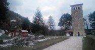 Косово, монастырь, поездка