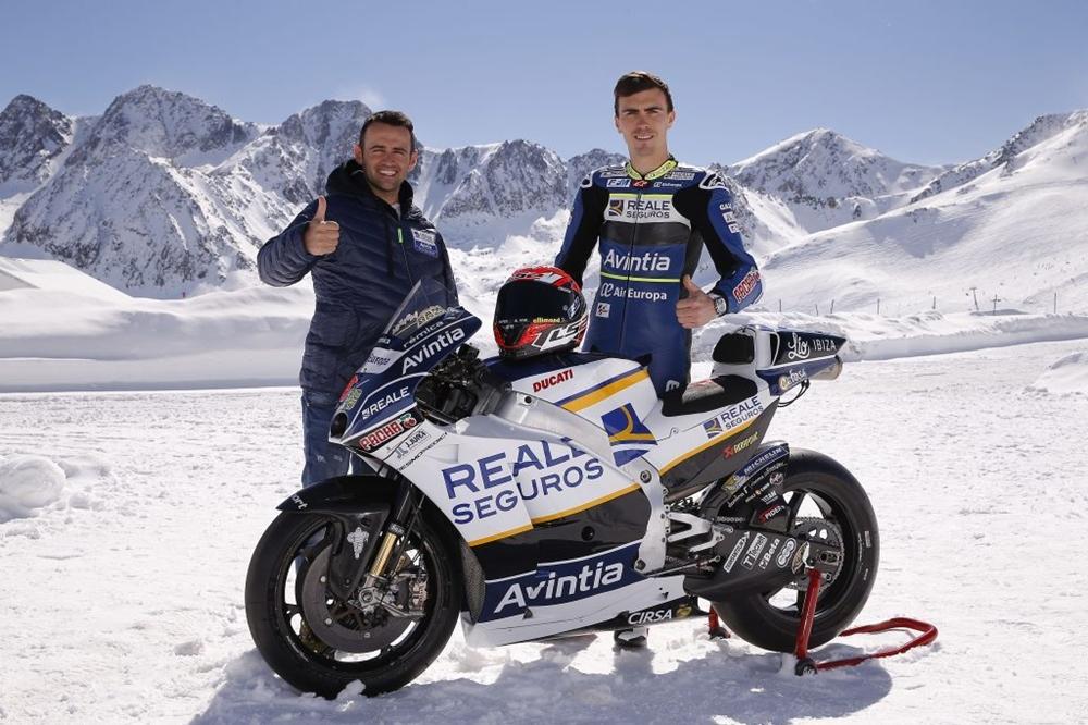 Эффектная презентация команды Avintia Ducati