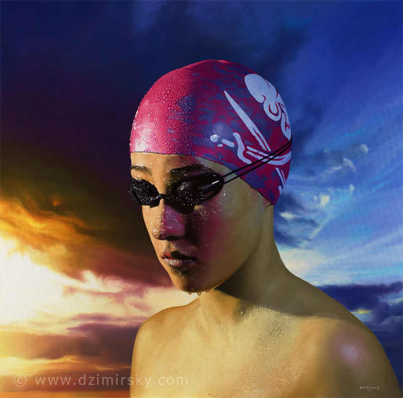 Hyper-Realistic Paintings by Dirk Dzimirsky