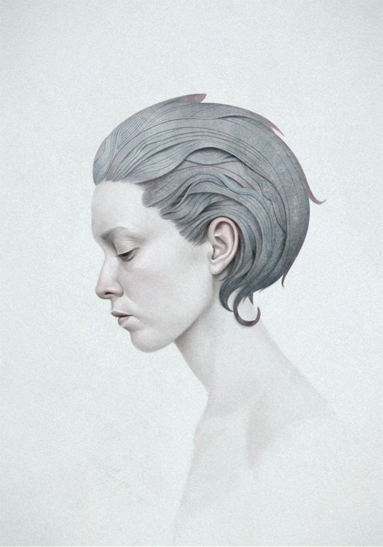 Portrait Illustrations by Diego Fernandez