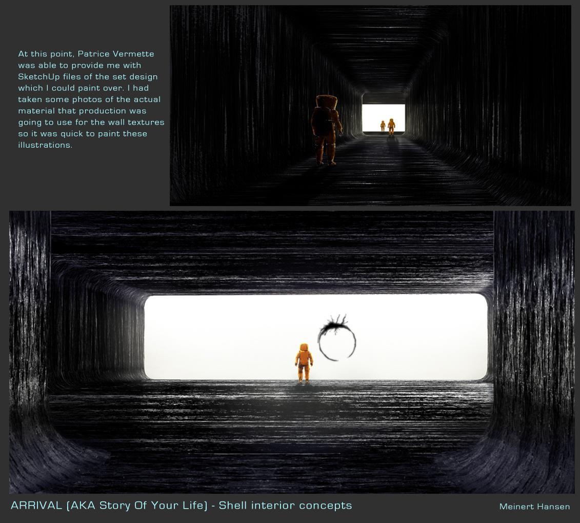 Arrival Concept Art by Meinert Hansen
