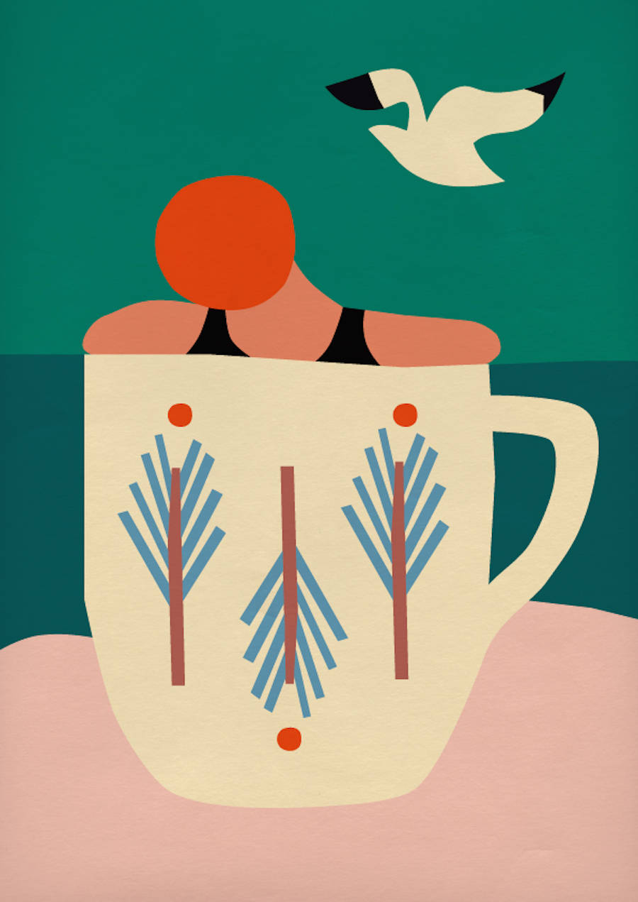 Colorful & Naive Illustrations by Anna Kovecses