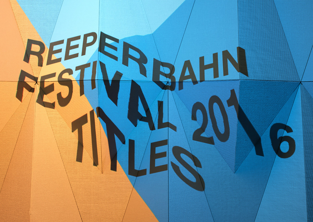 Reeperbahn Festival 2016 Graphics by Vitaly & Vincent