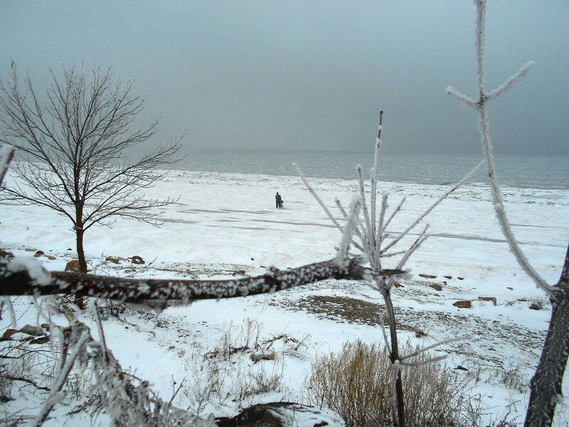 К морю устремляемся ... В походе декабрьском, снежно-туманном,
