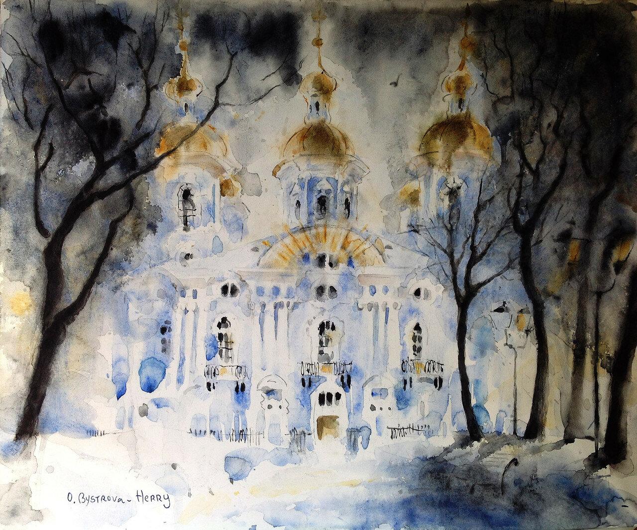 St. Pétersbourg. St Nicolas