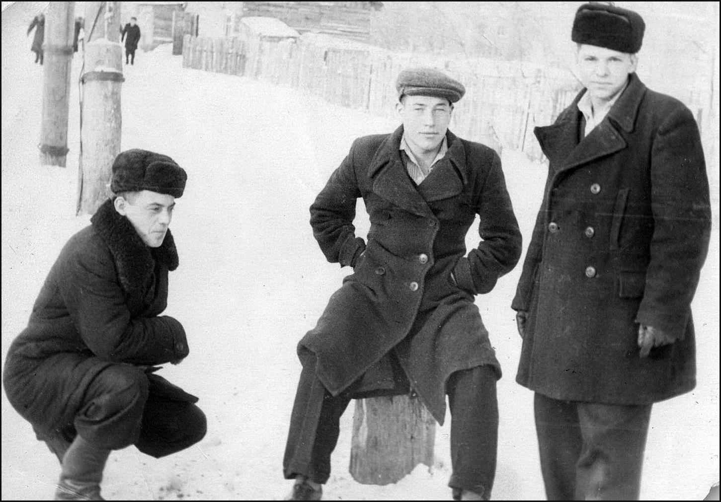 1962-1964. Мастера Михайловского УМСХ. Северный Казахстан
