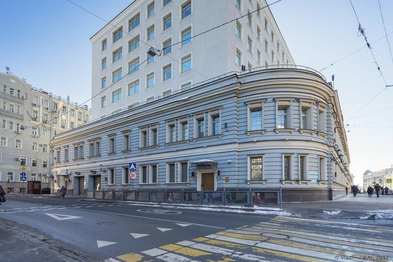 Большая Лубянка, 20 - здание ФСБ Москвы и МО
