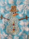 """Авдеенко Луиза (рук. Ветошкина Алсу Рафаиловна) - """"Снеговик"""""""