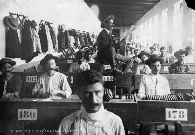 Чтец табачной фабрики