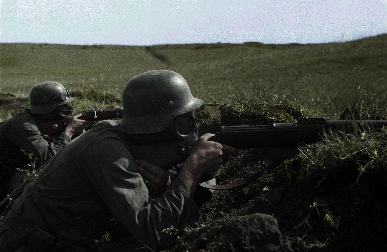 Сопротивление поляков.  1939 г.