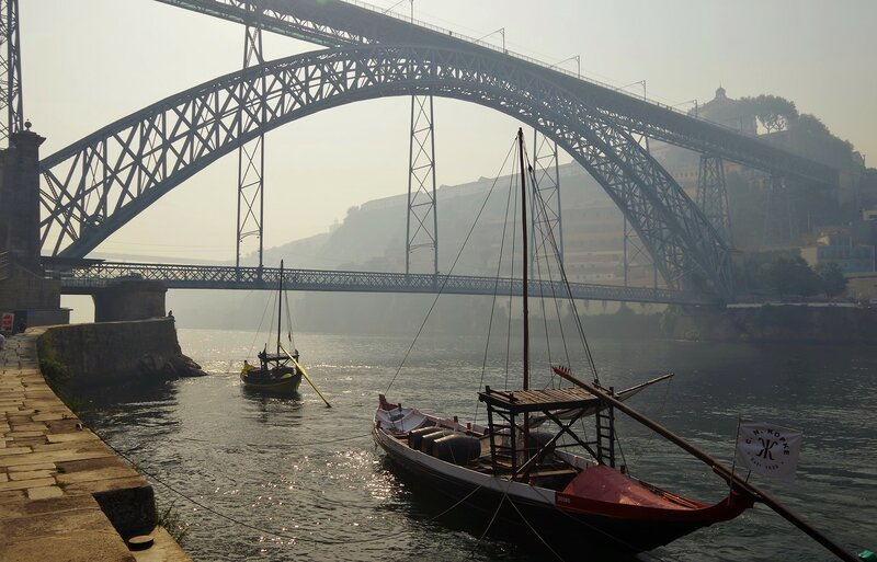 Мост Дона Луиша в Порто