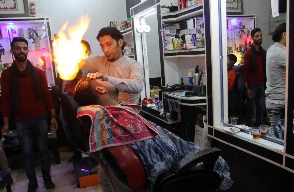 Hot Hair Salon in Gaza