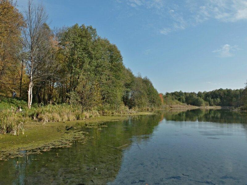 Осени начало.Озеро.
