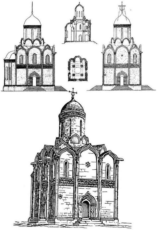 Успенский собор в XV веке, Звенигород
