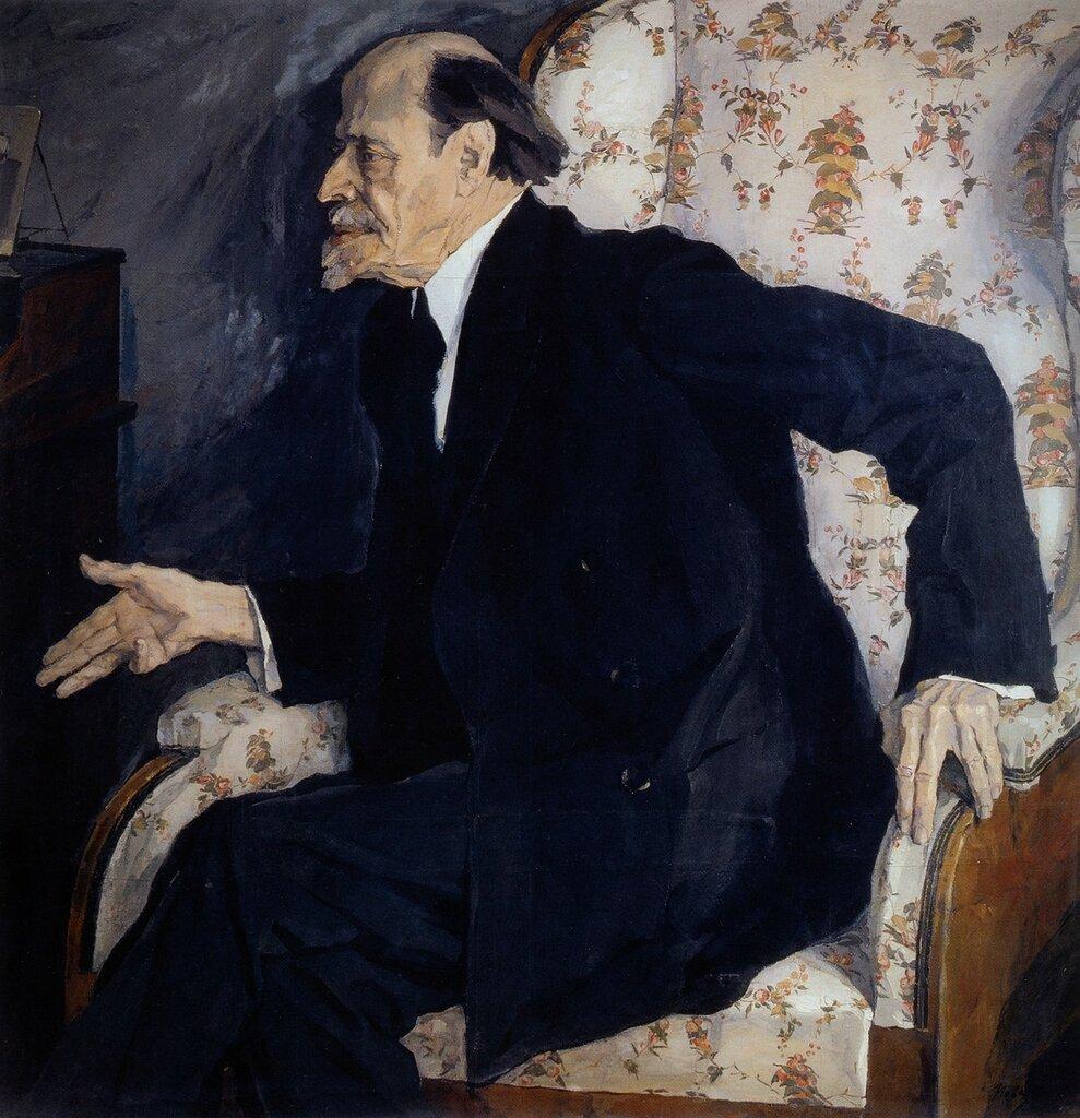 Павел Корин. Портрет художника М.В.Нестерова