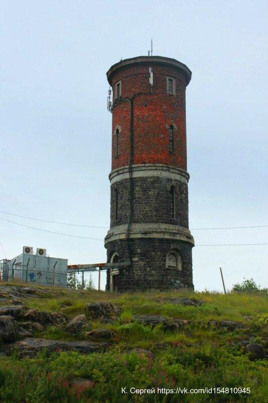 Водонапорная башня в Кеми