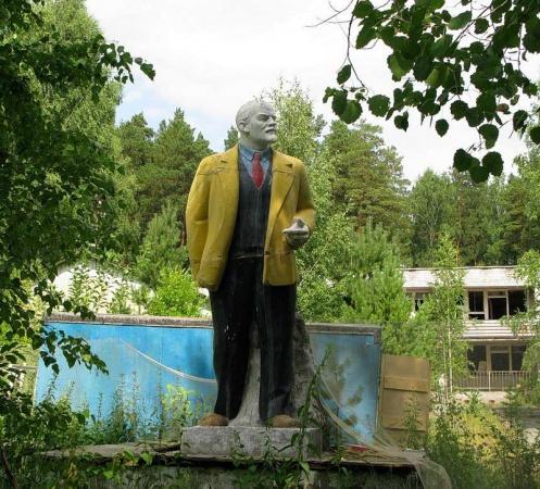 Памятник Ленину в Верхней Пышме