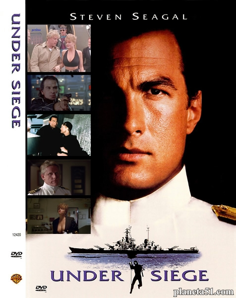 В осаде / Under Siege (1992) BDRip 720p + Blu-ray