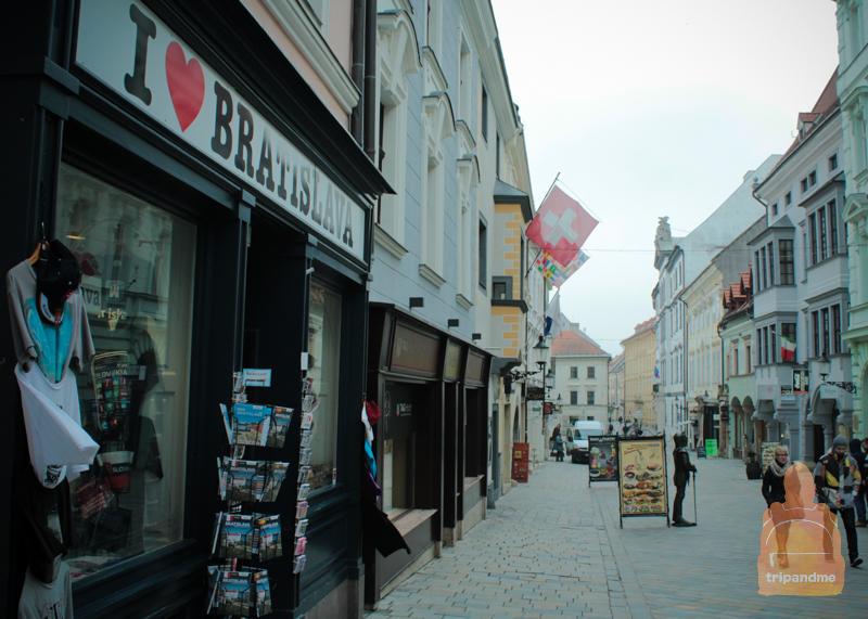 Братислава и старый город