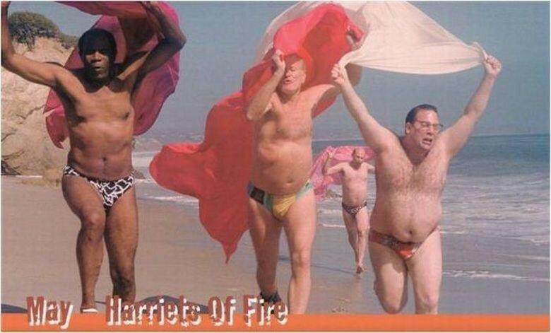 Эротический календарь с импозантными мужчинами