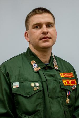Командир штаба Воронежского опорного университета – Акопян Антон Владимирович