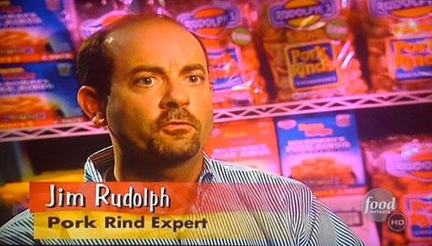 Джим Рудольф, эксперт по шкваркам.