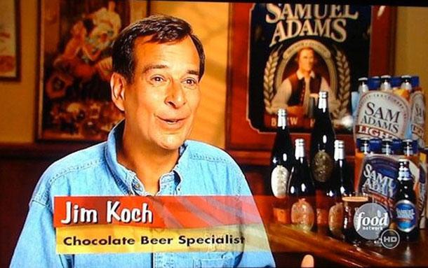 Джим Кох, специалист по шоколадному пиву.