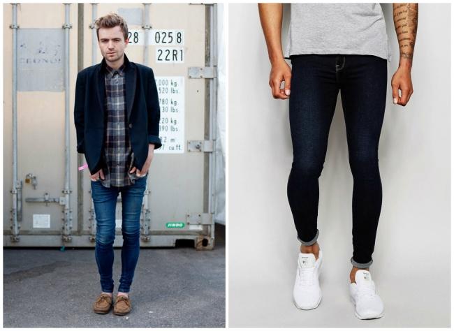 © jeromesmenswear.com  © thejeansblog.com  Нет ничего плохого вузких джинсах, нокогда