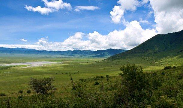 6. Ngorongoro Crater Lodge (Нгоронгоро, Танзания) Приехать сюда стоит не только для того, чтобы вкус