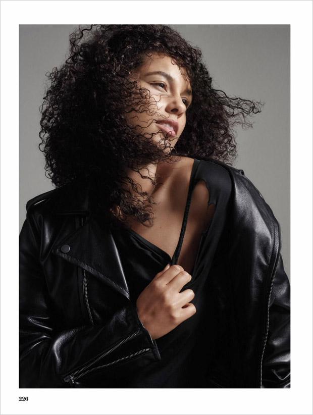 Алиша Кис в Elle Magazine