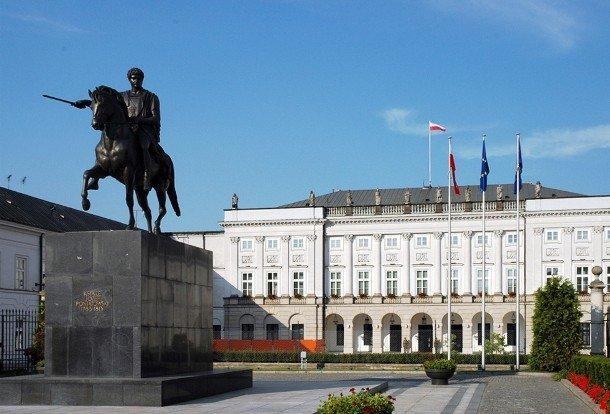 24. Президентский дворец, Польша С момента окончания строительства Президентского дворца в Варшаве в