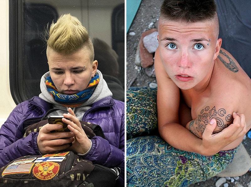 Вот как выглядят обычные люди из метро в соцсетях. Это приложение в два счета вычислит любого!