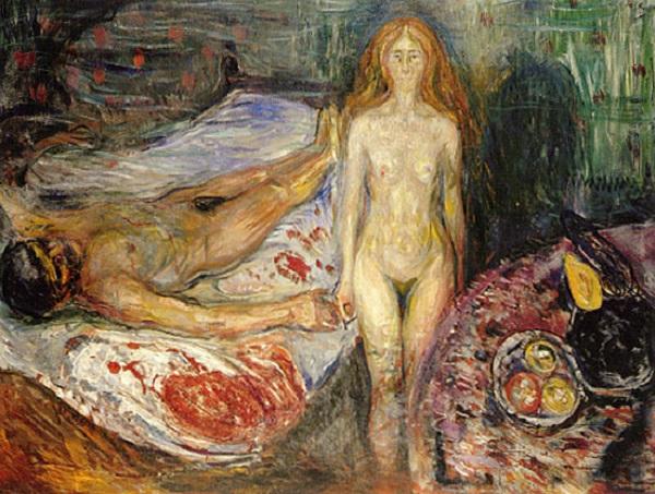 Теодор Жерико «Отрубленные головы» Эта картина была нарисована на начальном этапе творчества Теодора