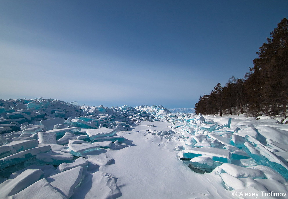 4. Зубы дракона.   Такие ледяные дебри — рай для фотографа!