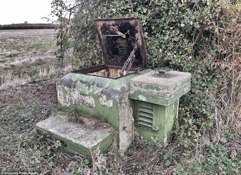 Во времена холодной войны в Великобритании построили 1563 бункера на расстоянии около 25 км один от