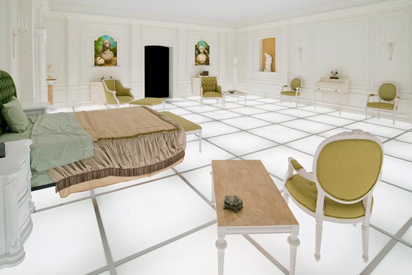 Воссозданная комната из фильма «2001 год: Космическая одиссея»