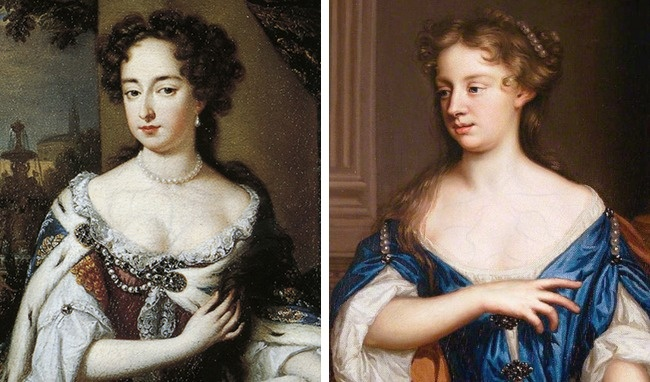 Чтобы подчеркнуть свое высокое происхождение , девушки синим карандашом рисовали вены нашее, груди
