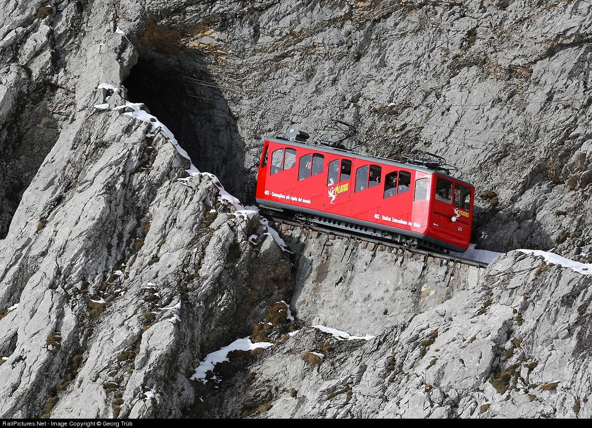 Пилатусбан — самая крутая железная дорога в мире (25 фото)
