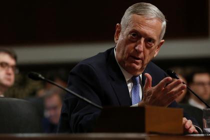 Сенат Конгресса США утвердил Джеймса Мэттиса министром обороны