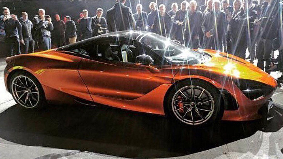 Мак Ларен Automotive готовит новый 720-сильный суперкар