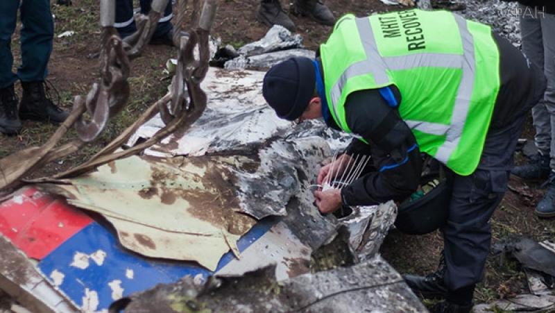 Захарова: Нидерланды не спешат с изучением крушения малазийского Boeing