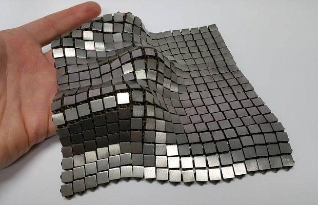 ВНАСА разработали космическую ткань изсеребра