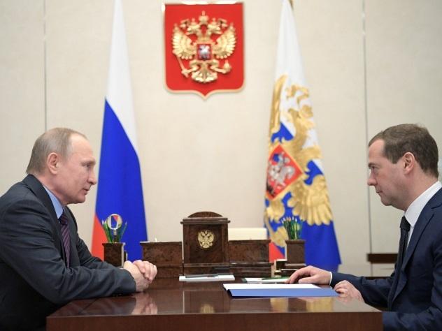 82% граждан России одобряют работу В. Путина