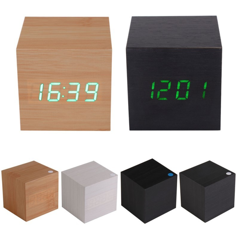Настольные часы куб