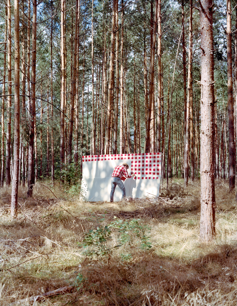 A Collaborative Duo Pokes Fun at Plein Air Painting Through Photographic Series